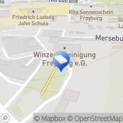 Karte Institut für Agrar-& Umweltanalytik Freyburg (Unstrut), Deutschland