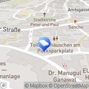 Karte Bestattungsinstitut Gerhard Zeitler Münchberg, Deutschland