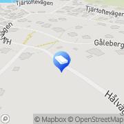 Karta Oso Konsult Asperö, Sverige