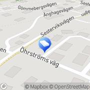 Karta Dennis Olsson Målerifirma Svanesund, Sverige