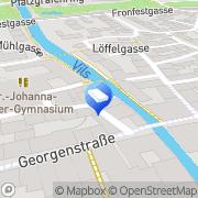Karte Aures Amberg, Deutschland