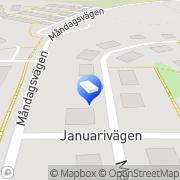 Karta Kurveröds Bygg Uddevalla, Sverige