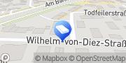 Karte Glaserei Josef Hochholzer Erding, Deutschland