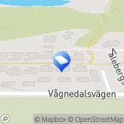 Karta Annika Design Billdal, Sverige