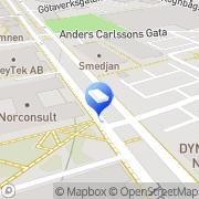 Karta Spaces - Gothenburg, Spaces Brygghuset Göteborg, Sverige