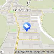 Karta Ubismo-Konsult Billdal, Sverige