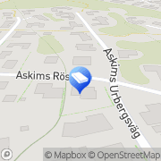 Karta Kvadrin Konsult HB Askim, Sverige