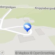Karta Göteborgs Äventyrscenter Skogome, Sverige