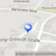 Karte Ralf und Falk Döring D&D GbR Halle (Saale), Deutschland