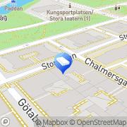 Karta Brf Luftslottet Göteborg, Sverige