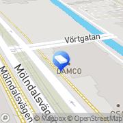 Karta CA consultadministration ab Göteborg, Sverige
