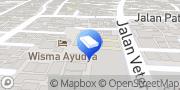 Map Sekar Ayung Residence Denpasar, Indonesia