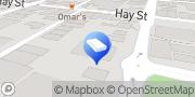 Map UHY Haines Norton Perth West Perth, Australia