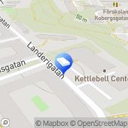 Karta Förskola Göte-Bojarna Göteborg, Sverige
