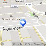 Karta Hagberg Måleri AB Mölndal, Sverige
