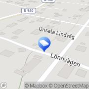 Karta M Lenberg AB Vickan, Sverige