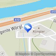 Karte Klingler Solartechnik Wörgl, Österreich