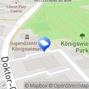 Karte Regensburg im Internet Regensburg, Deutschland