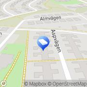 Karta Balltorps Måleri Lindome, Sverige