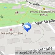 Karte Dr. Brammer Regensburg, Deutschland