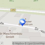 Karte Danhauser Bauzentrum Weiden, Deutschland