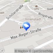 Karte Immobilien Weiden, Deutschland