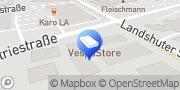 Karte Mail Boxes Etc. - Zentrum MBE 0207 Ergolding, Deutschland