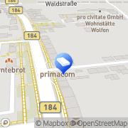 Karte Rechtsanwälte Götschel & Fucke Bitterfeld-Wolfen, Deutschland
