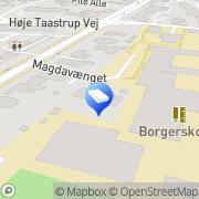 Kort Magdabørnehaven Tåstrup, Danmark