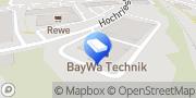 Karte BayWa AG Prien (Baustoffe) Prien am Chiemsee, Deutschland