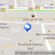 Karte familienfreund Leipzig, Deutschland