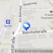 Karte Bestattungshaus Nubbemeyer Kyritz, Deutschland