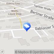 Karte Peter Ruppin Elektroanlagen Waldkraiburg, Deutschland