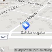 Karta Rymans Chaufförstjänst Mellerud, Sverige