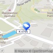 Karte Steffi Hilbert Steuerberaterin Zwickau, Deutschland
