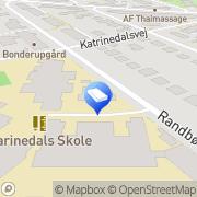 Kort Skolefritidshjemmet ved Katrinedalsskolen Vanløse, Danmark