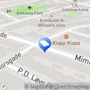 Kort Arkitektonic København, Danmark