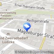 Karte Jens Rodegast Steuerberater Bad Belzig, Deutschland