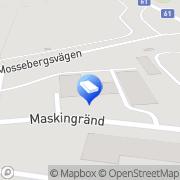 Karta Hyrmaskiner i Värmland AB Arvika, Sverige