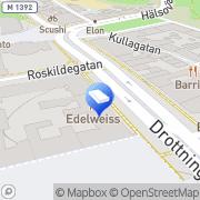 Karta Ekros & Hultberg AB Helsingborg, Sverige
