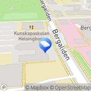 Karta Hsb Bostadsrättsförening Klostret i Helsingborg Helsingborg, Sverige