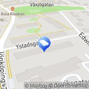 Karta Svensksten J.A. Byggnadsfirma Helsingborg, Sverige