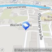 Karte Fritzenwanker Dach GmbH Bruck an der Großglocknerstraße, Österreich