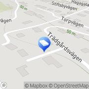 Karta B I K Konsultgrupp AB Båstad, Sverige