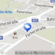 Karte Latzer Druck & Logistik GmbH Saalfelden am Steinernen Meer, Österreich