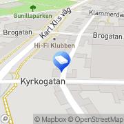Karta Ericson, Anders Transport Halmstad, Sverige