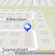 Karta Fremo Bygg Häljarp, Sverige