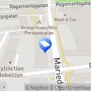 Karta Valentins Målerifirma Malmö, Sverige