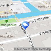 Karta Vestra Advokatbyrå AB Malmö, Sverige