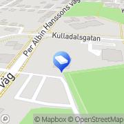 Karta Kullavångens Förskola Malmö, Sverige